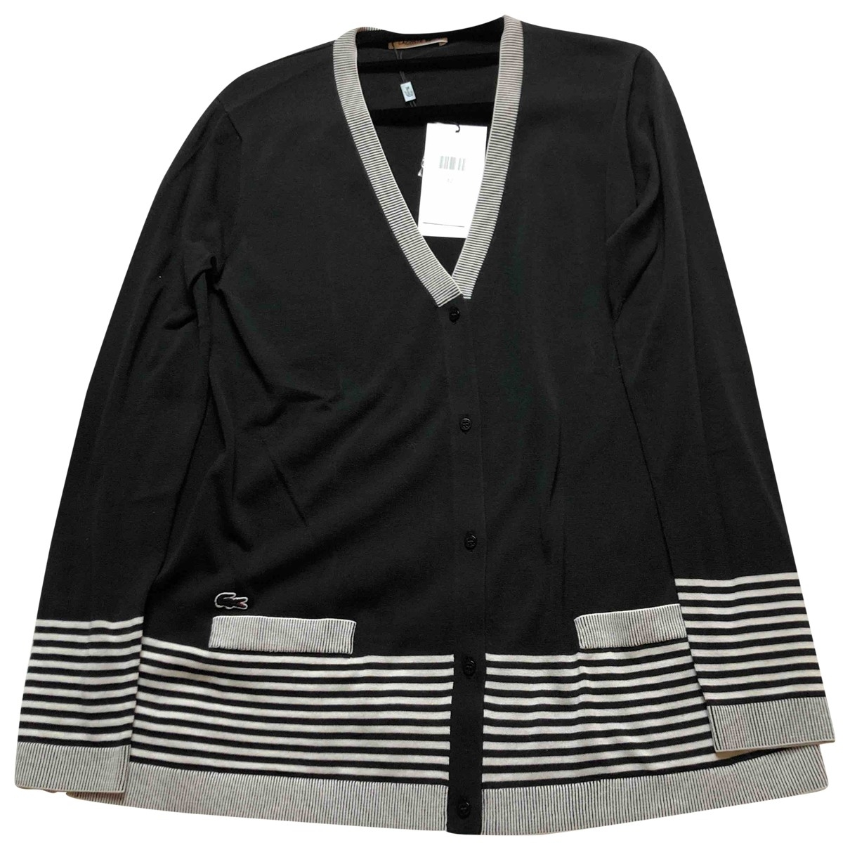 Lacoste \N Pullover in  Schwarz Baumwolle