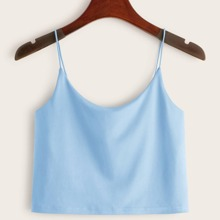 Blue Crop Cami