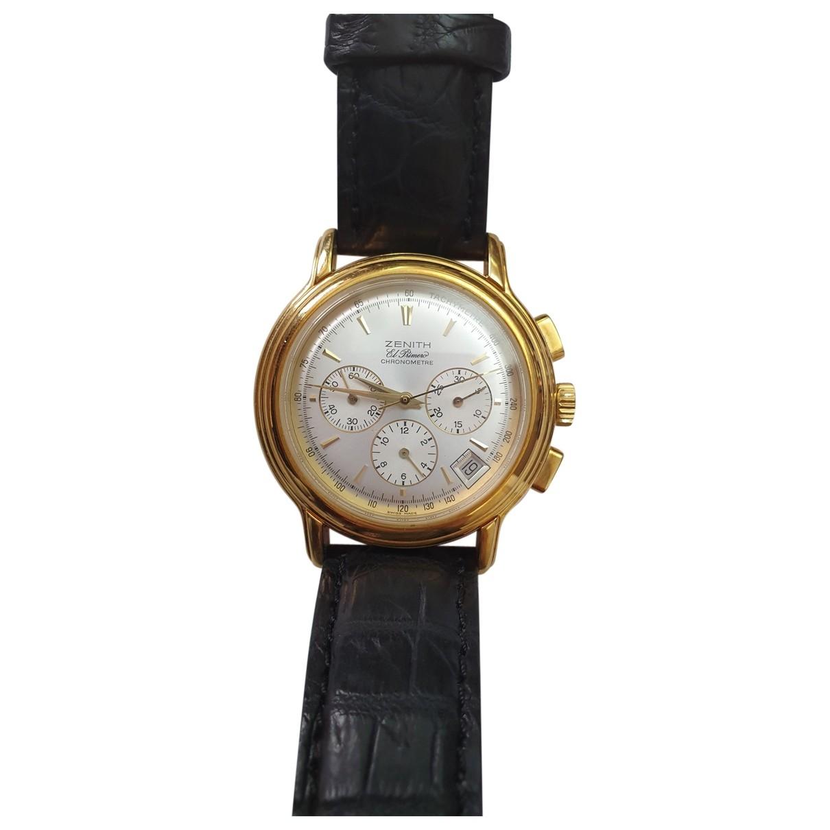 Relojes El Primero  de Oro amarillo Zenith