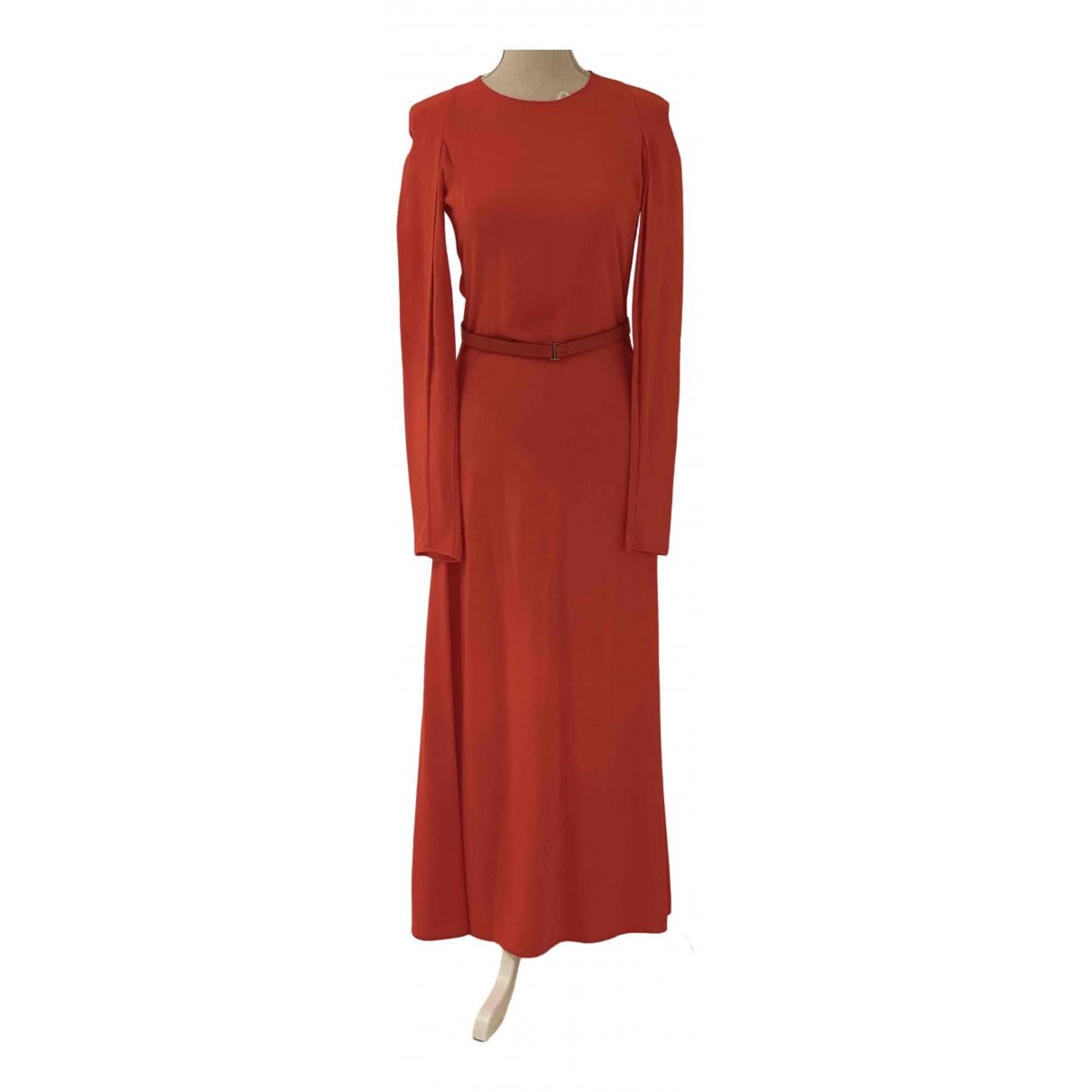 Calvin Klein \N Kleid in  Rot Viskose