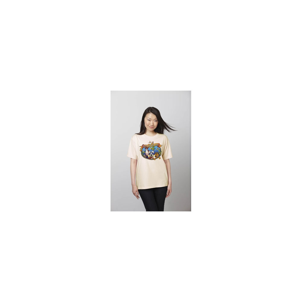 EntirelyPets Friends T-Shirt Xlarge - White