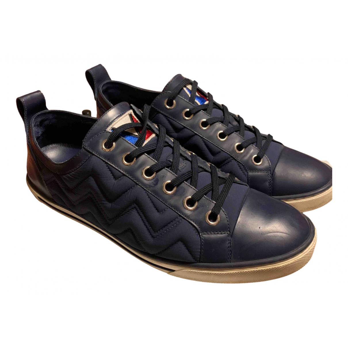 Louis Vuitton \N Sneakers in  Blau Kautschuk