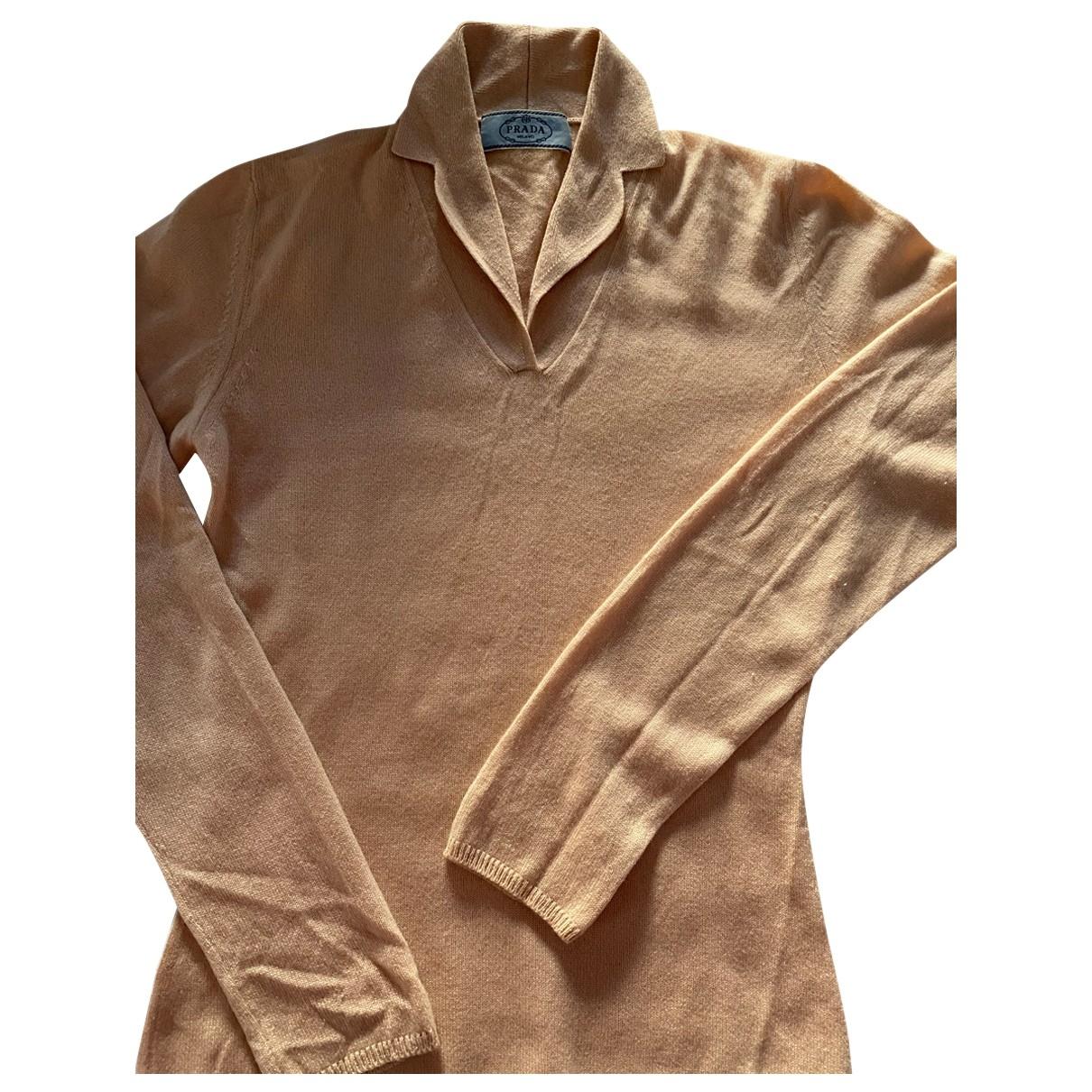 Prada \N Pullover in  Beige Kaschmir