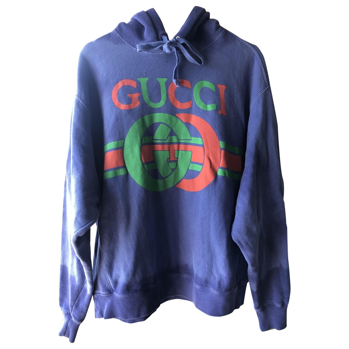Gucci \N Pullover.Westen.Sweatshirts  in  Lila Baumwolle