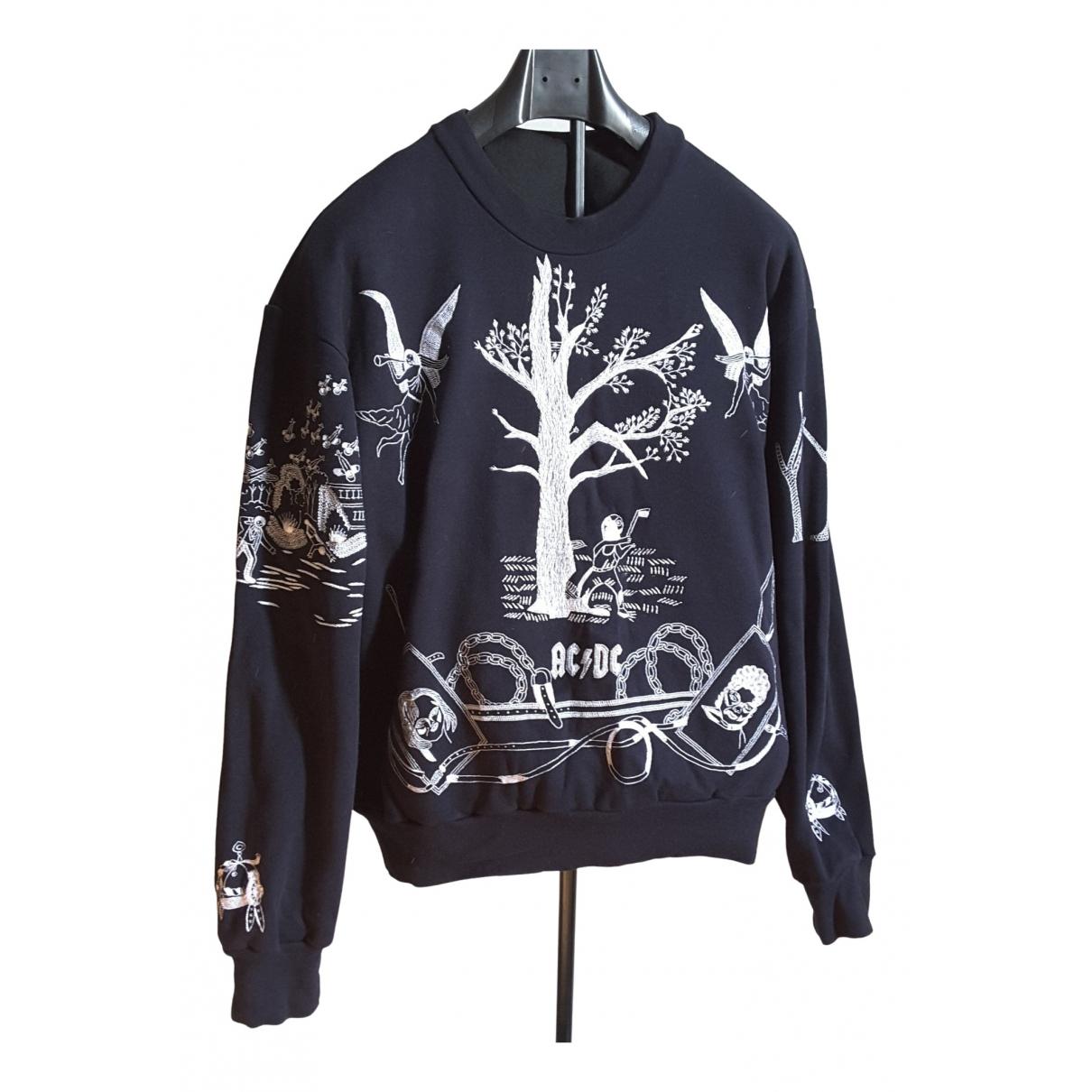 Bernhard Willhelm \N Navy Cotton Knitwear for Women 42 FR