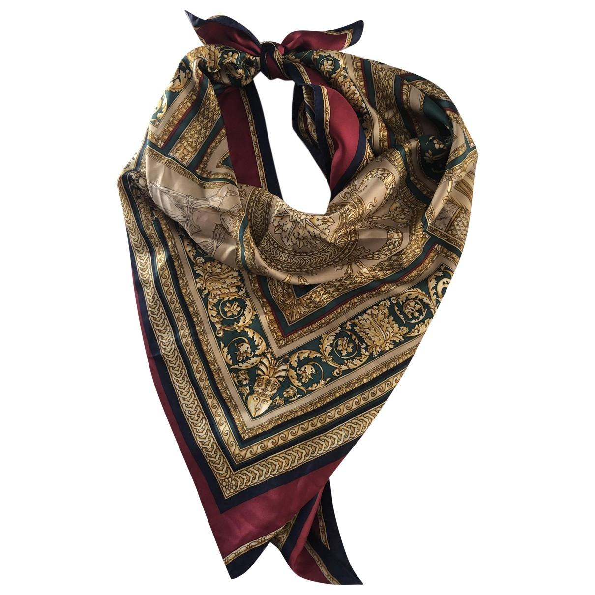 Max Mara \N Multicolour Silk scarf for Women \N