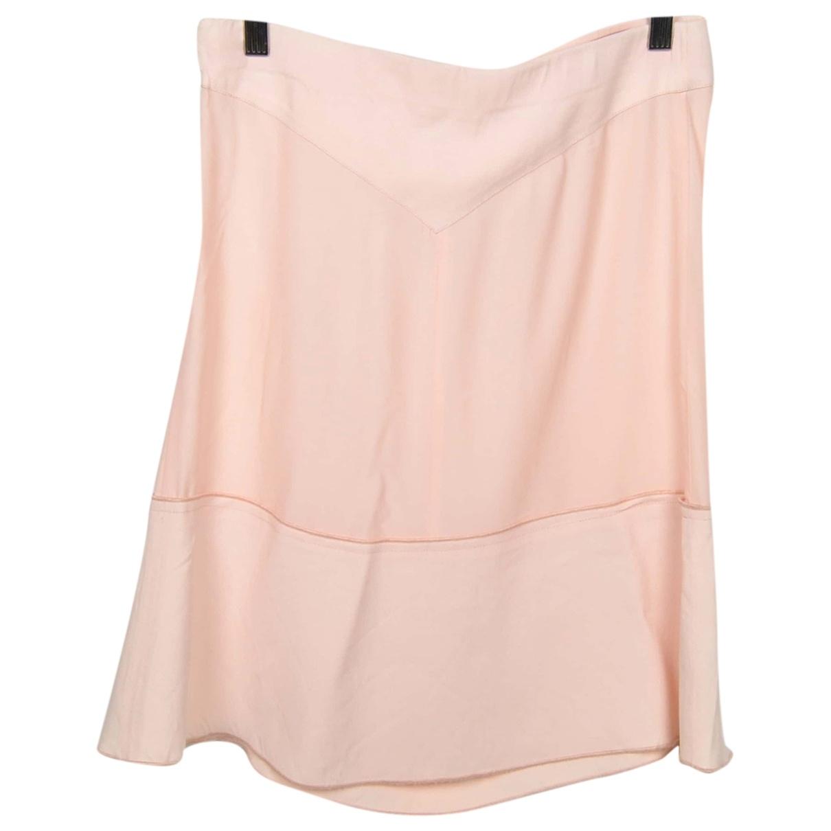 Pinko - Jupe   pour femme en soie - rose