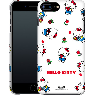 Apple iPhone 8 Plus Smartphone Huelle - Hello Kitty Flower Pattern von Hello Kitty