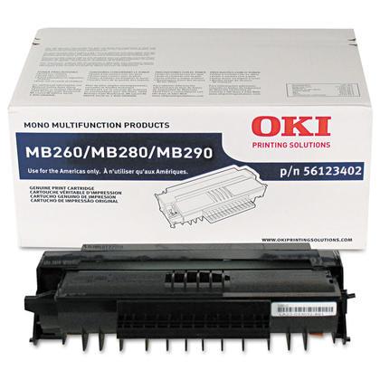 Okidata 56123402 Original Black Toner Cartridge High Yield
