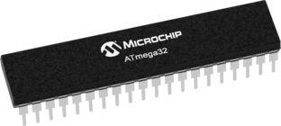 Microchip ATMEGA32L-8PU, 8bit AVR Microcontroller, ATmega, 8MHz, 32 kB Flash, 44-Pin QFN/MLF