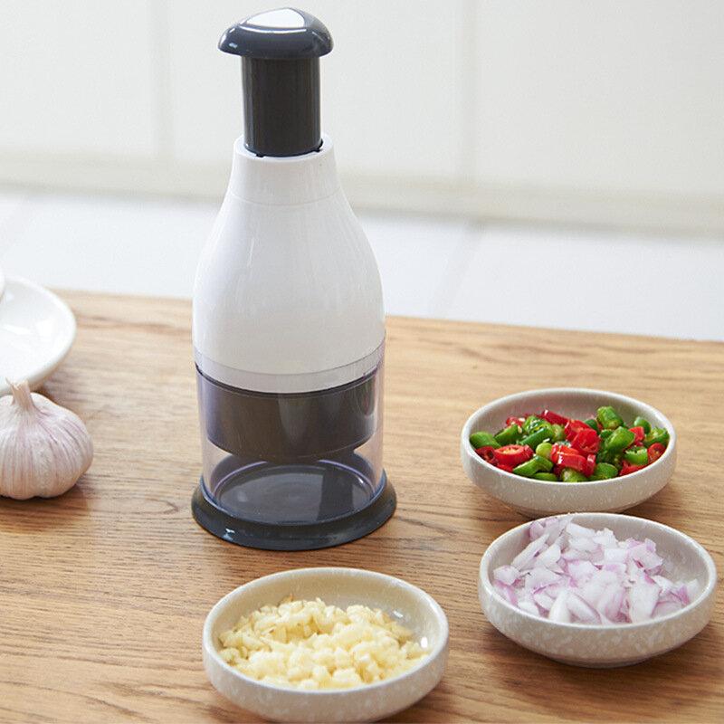 Multifunction Food Cutter Garlic Onion Nuts Grinder Mincer Manual Fruit Vegetable Chopper Kitchen Gadget