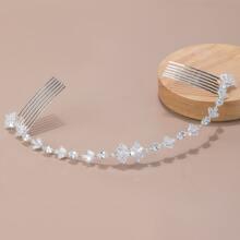 Gemstone Decor Hair Pin