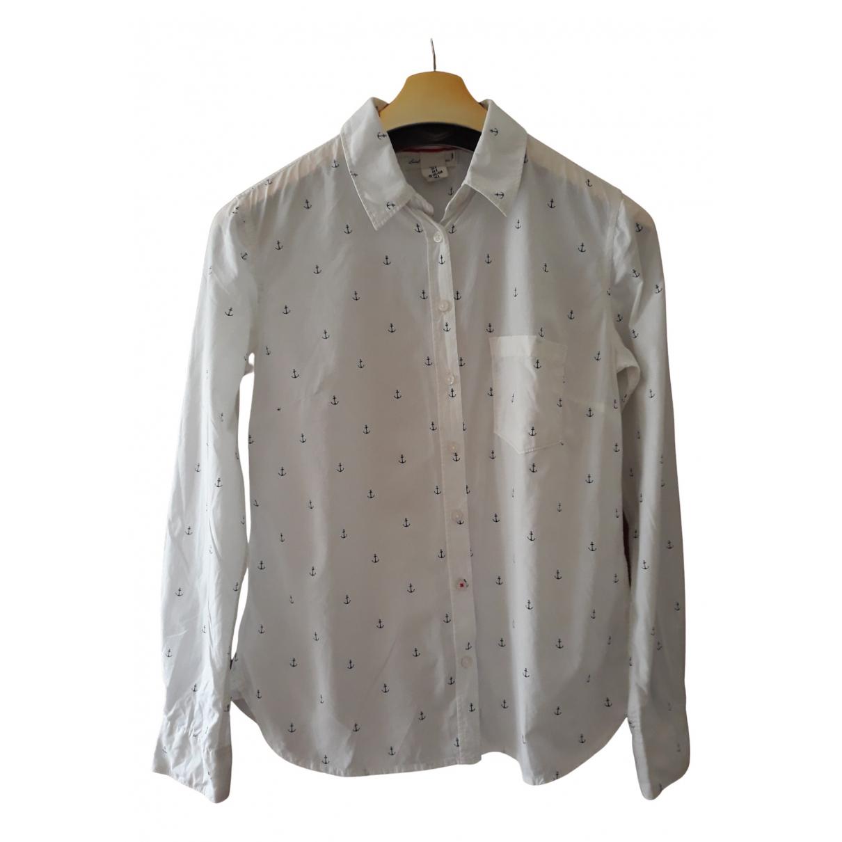 H&m Conscious Exclusive - Top   pour femme en coton - blanc
