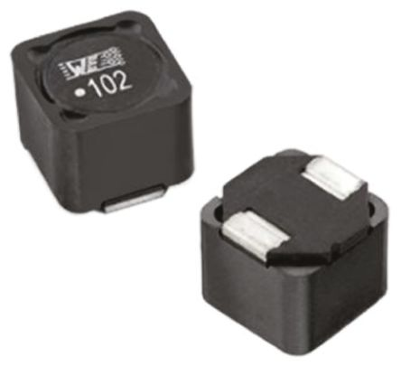 Wurth Elektronik Wurth, WE-PDHV, 7345 Shielded Wire-wound SMD Inductor 470 μH ±20% Wire-Wound 350mA Idc