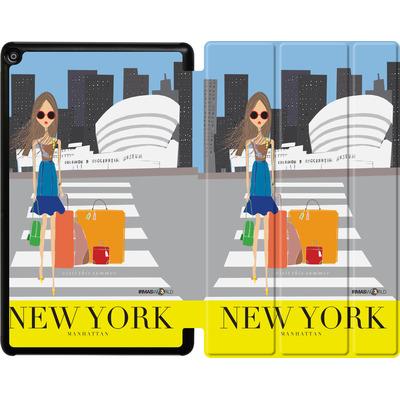 Amazon Fire HD 10 (2017) Tablet Smart Case - NEW YORK TRAVEL POSTER von IRMA