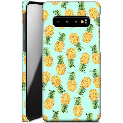 Samsung Galaxy S10 Smartphone Huelle - Pineapple von Amy Sia