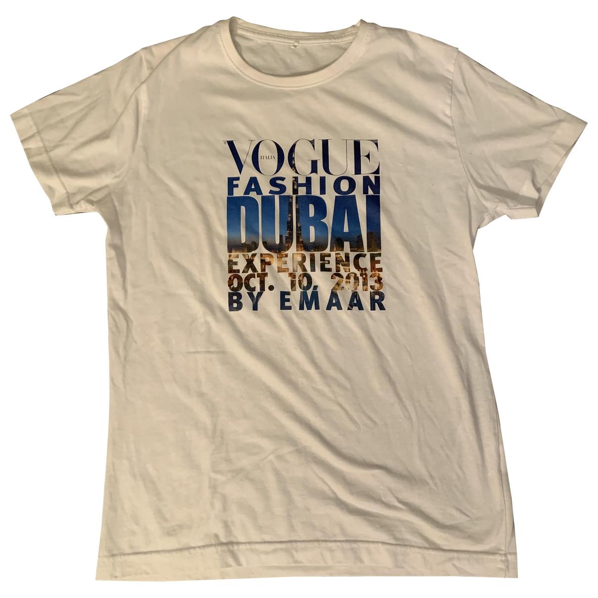 Vogue - Pull   pour femme en coton - blanc
