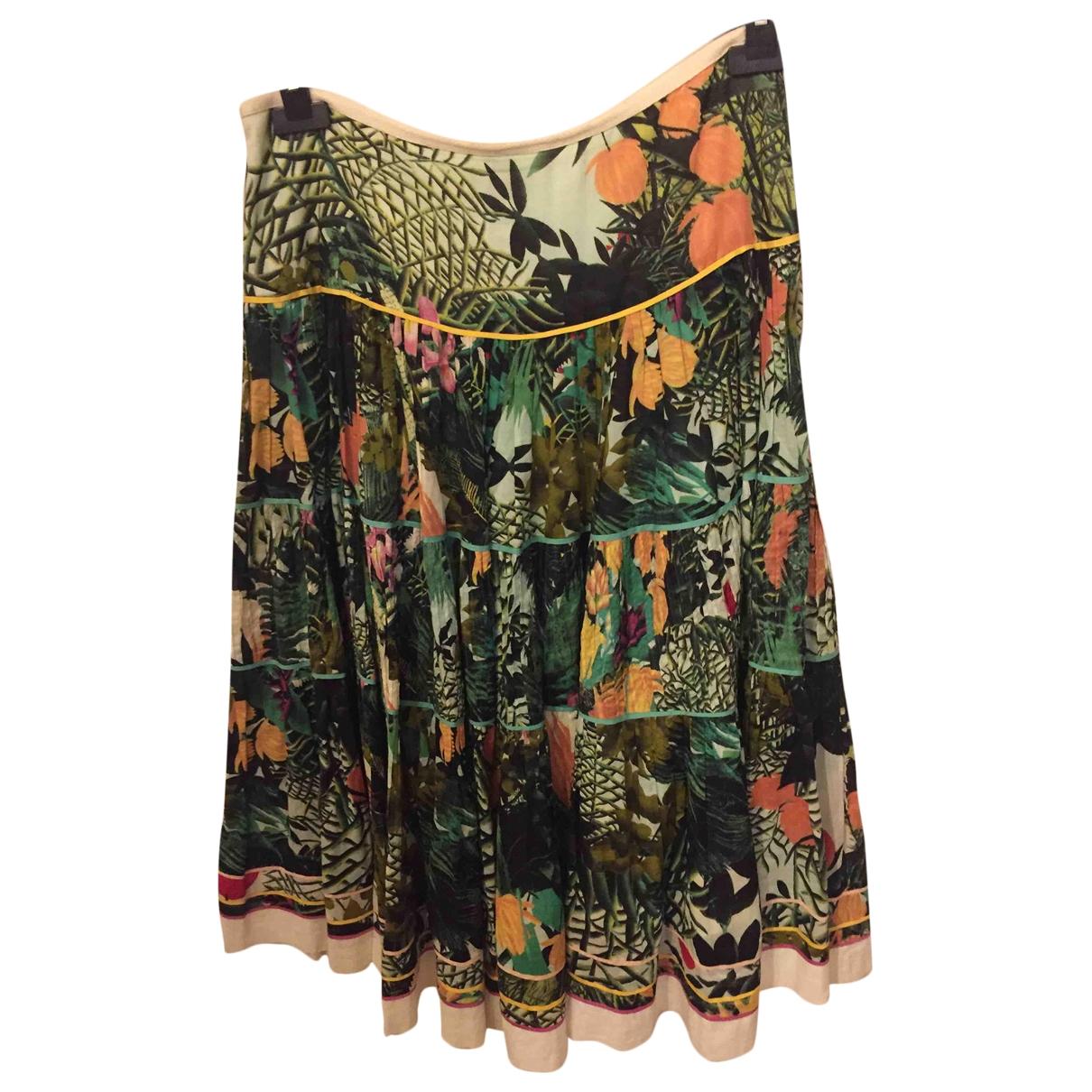 Catherine Malandrino - Jupe   pour femme en coton - multicolore