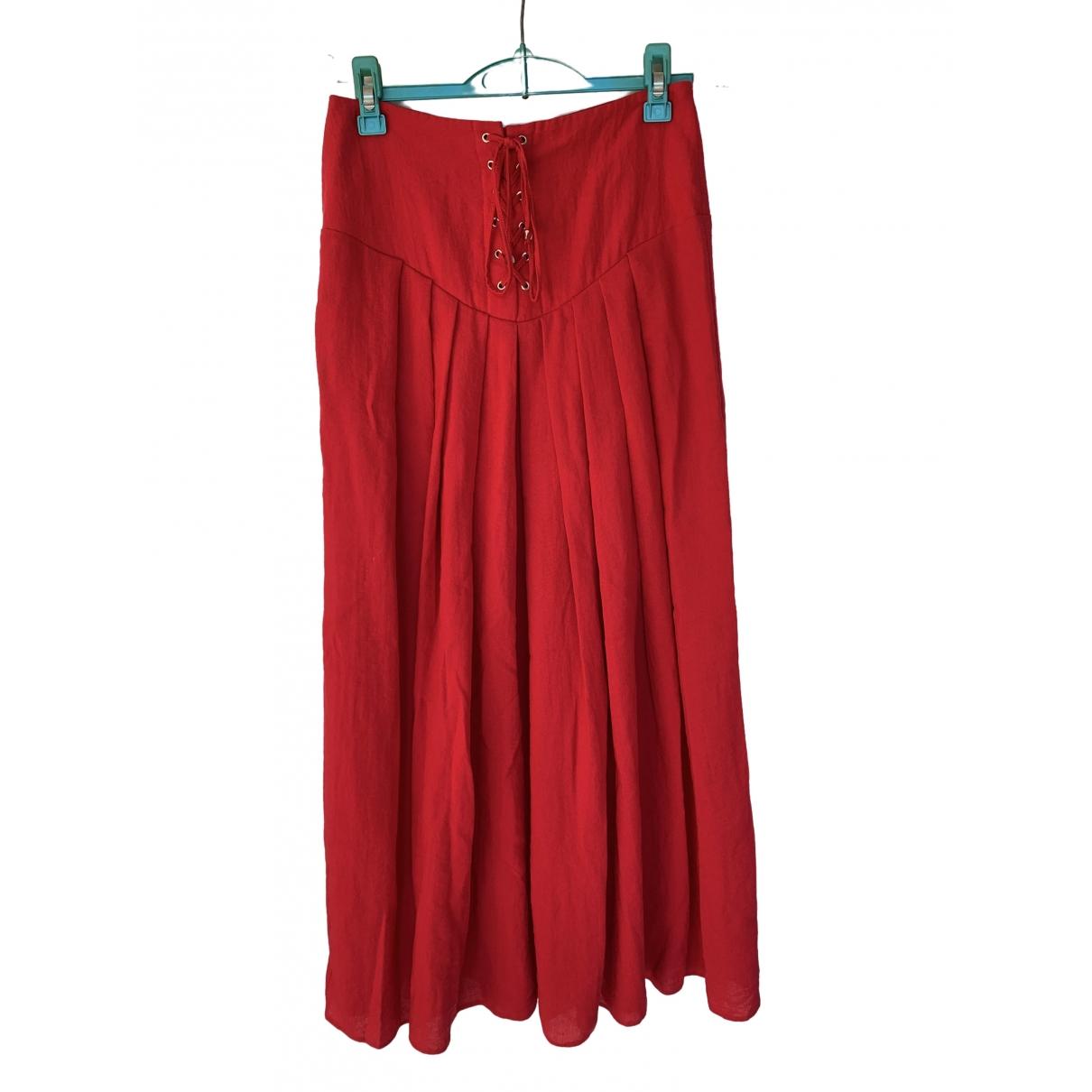 Modetrotter \N Rocke in  Rot Viskose