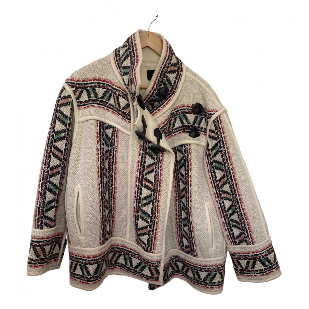 Isabel Marant - Veste   pour femme en laine - blanc