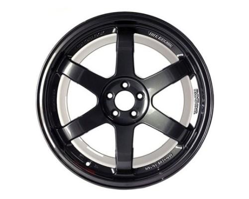 Volk Racing WVD422MPB TE37 SL Wheel 19x9.5 5x112 22mm Diamond Black