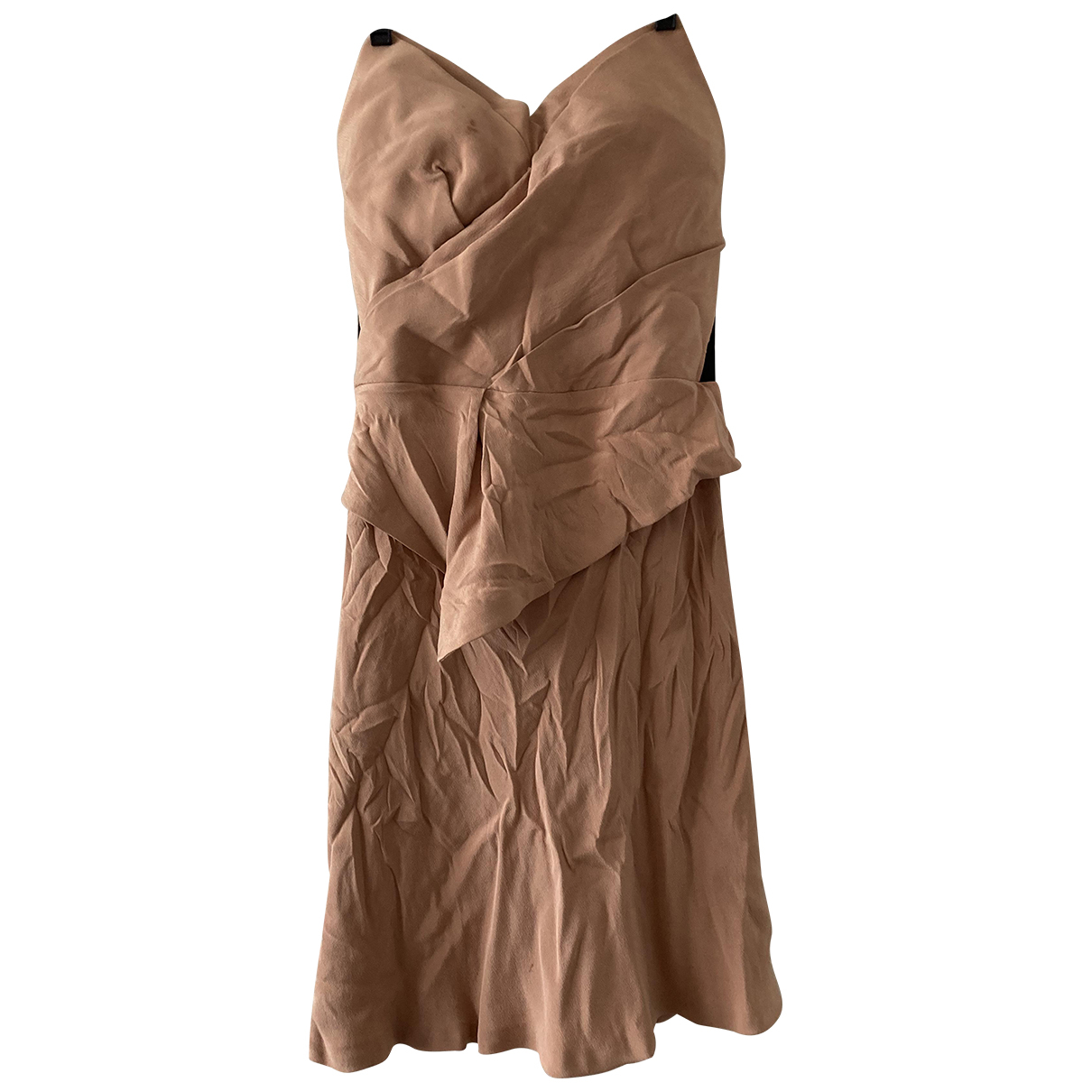 Willow \N Kleid in  Rosa Viskose