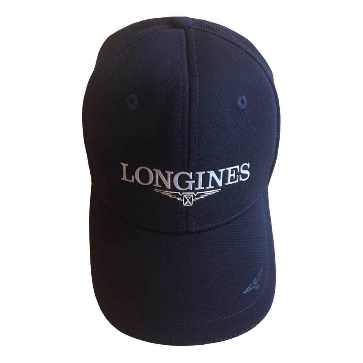 Longines \N Hut, Muetzen in  Blau Polyester