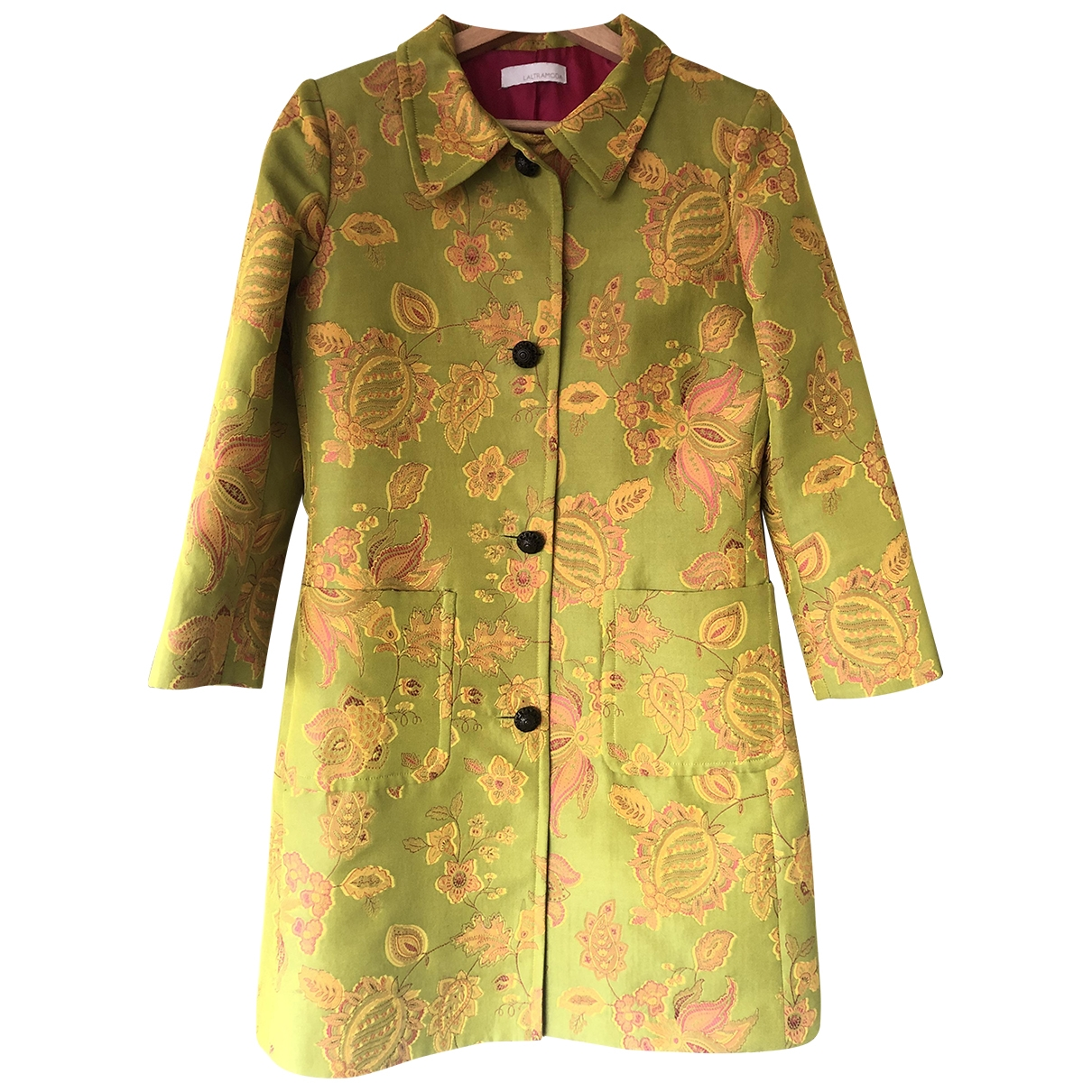Non Signé / Unsigned \N Green jacket for Women 42 IT