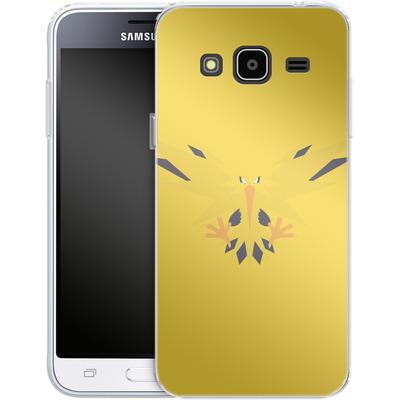 Samsung Galaxy J3 (2016) Silikon Handyhuelle - Zapdos by Lucian Foehr von Lucian Foehr