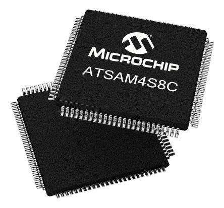 Microchip ATSAM4S8CA-AU, 32bit ARM Cortex M4 Microcontroller, SAM4S, 120MHz, 512 kB Flash, 100-Pin LQFP