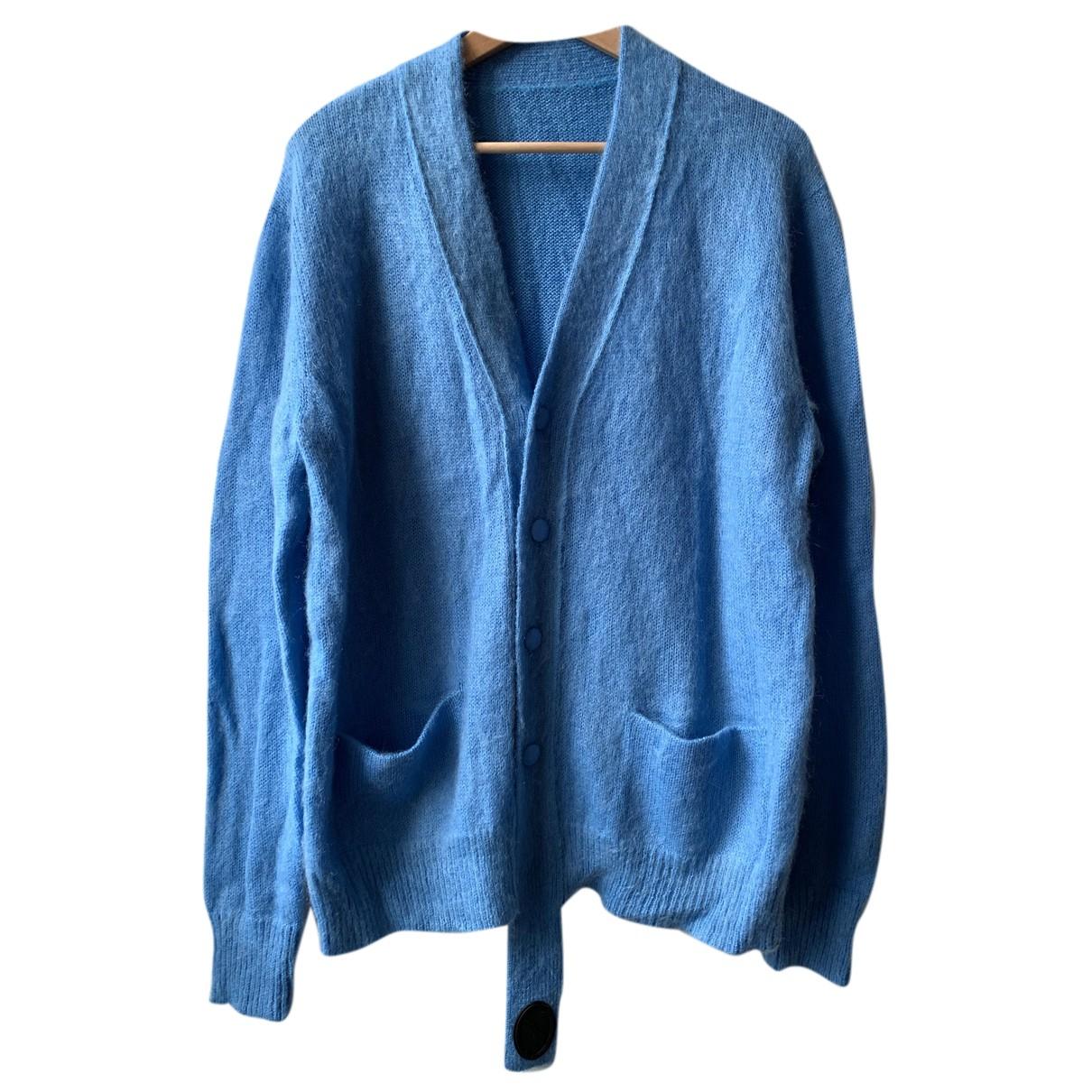 We11done - Pull   pour femme en laine - bleu