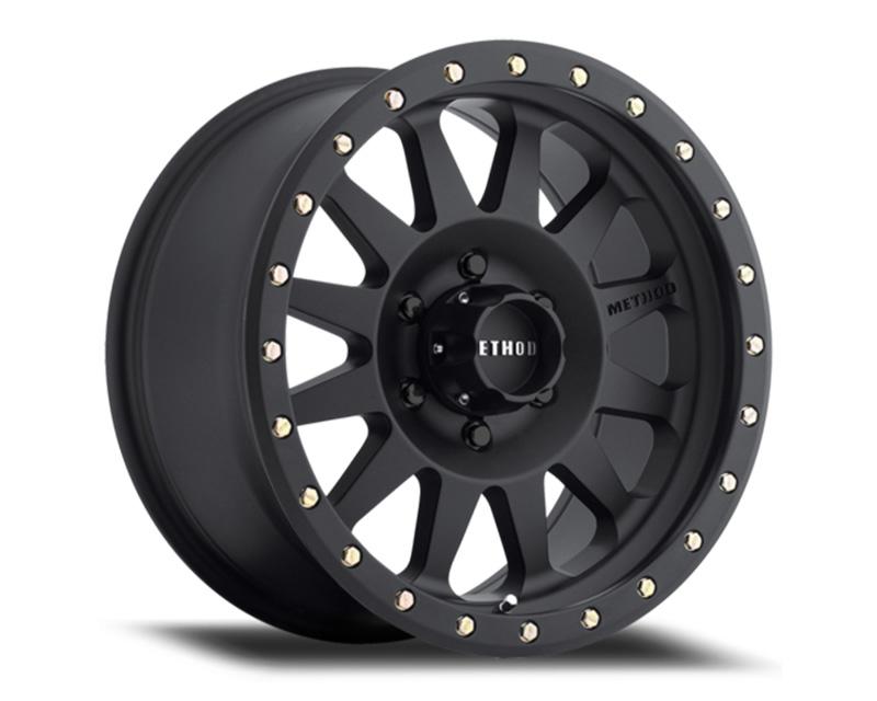 Method MR304 Double Standard Wheels 20x10 5x5 -18mm Matte Black