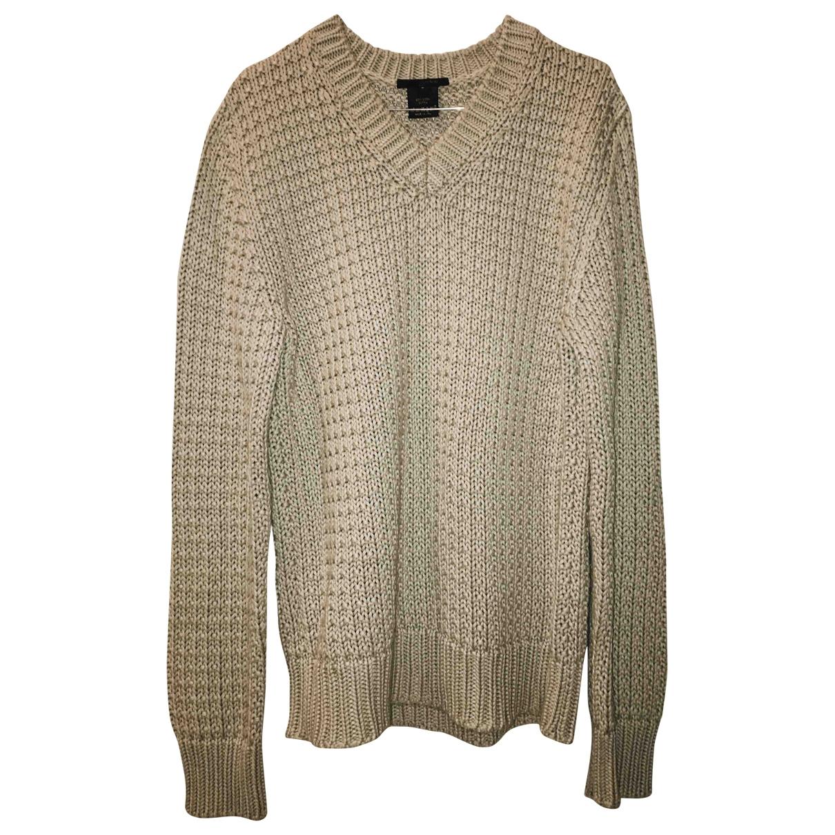 Louis Vuitton \N Pullover.Westen.Sweatshirts  in  Beige Baumwolle