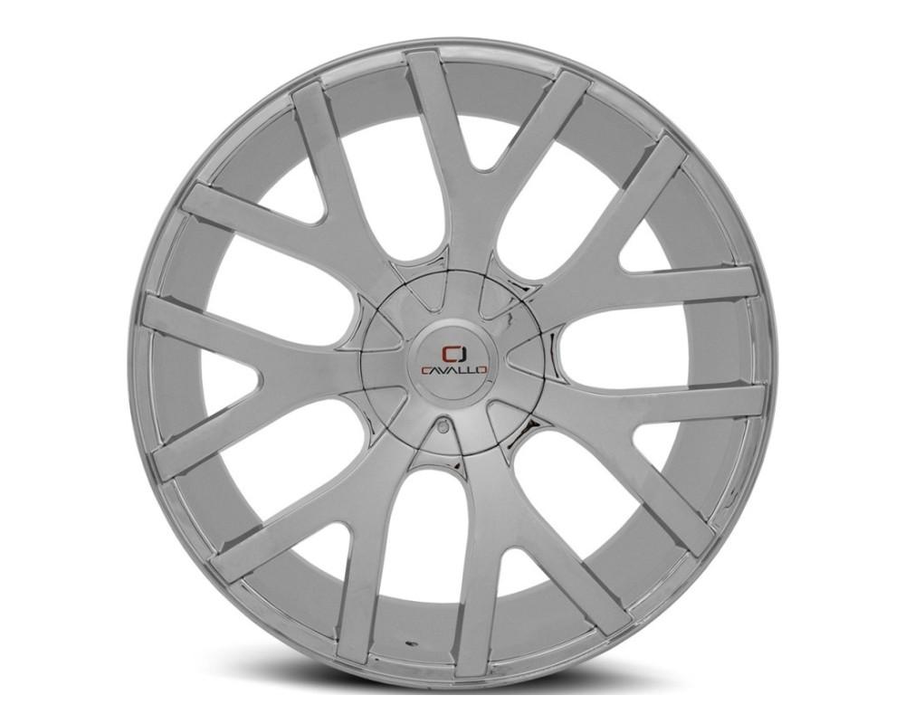 Cavallo CLV-15 Wheel 22x9.5 5x115|5x139.7 15mm Chrome