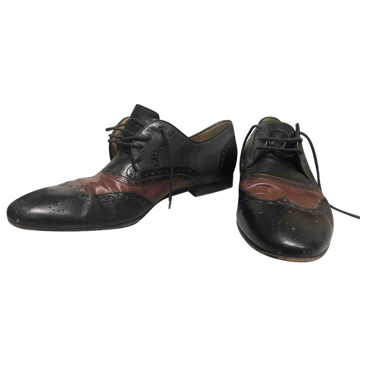 Gucci \N Leather Lace ups for Men 44 EU