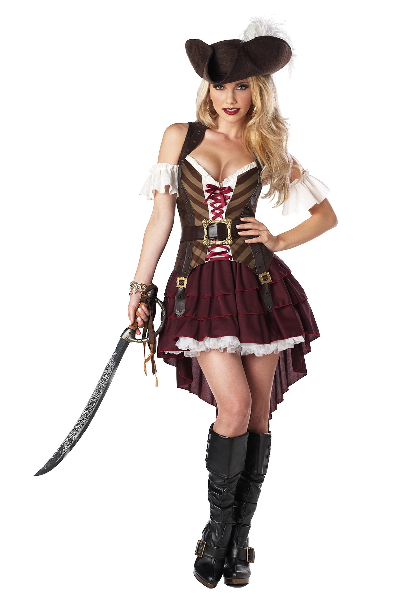 Sexy Swashbuckler Captain Women's Costume | Womens Sexy Pirate Costume