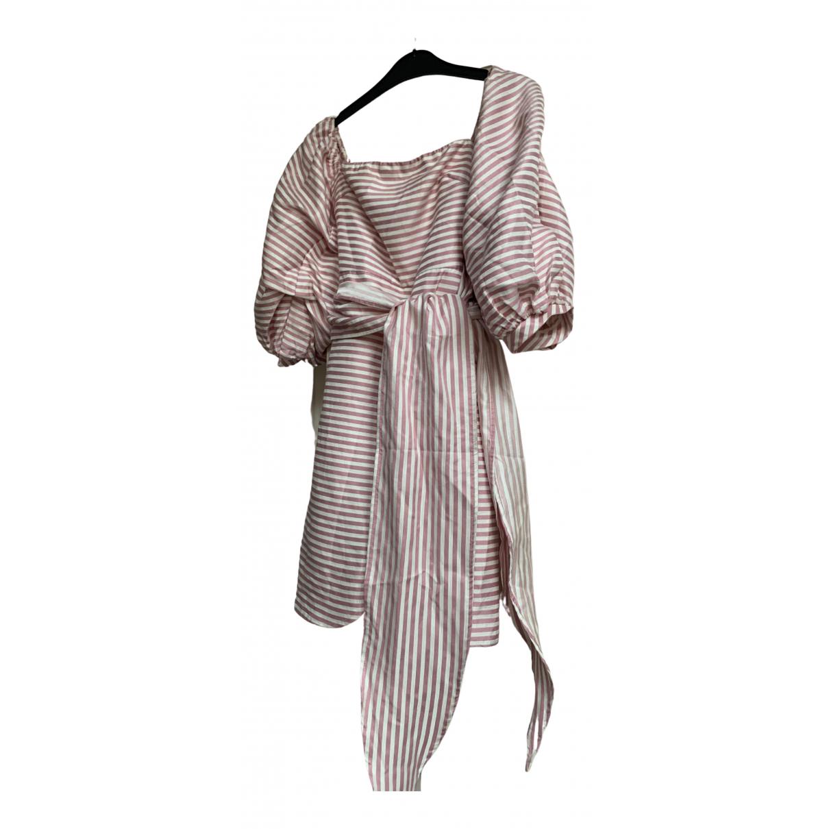 Asilio \N Kleid in  Rosa Seide