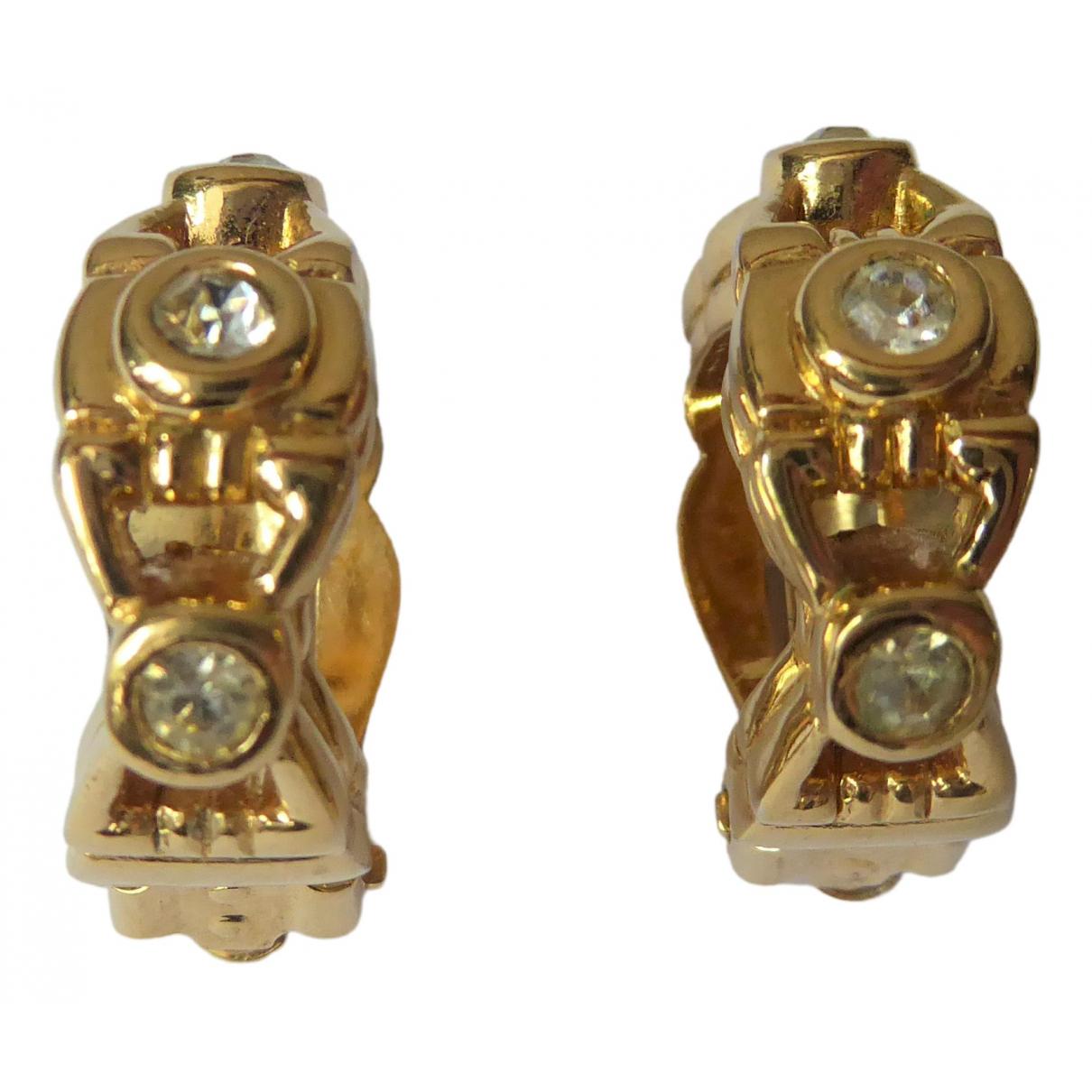 Nina Ricci - Boucles doreilles   pour femme en plaque or - dore