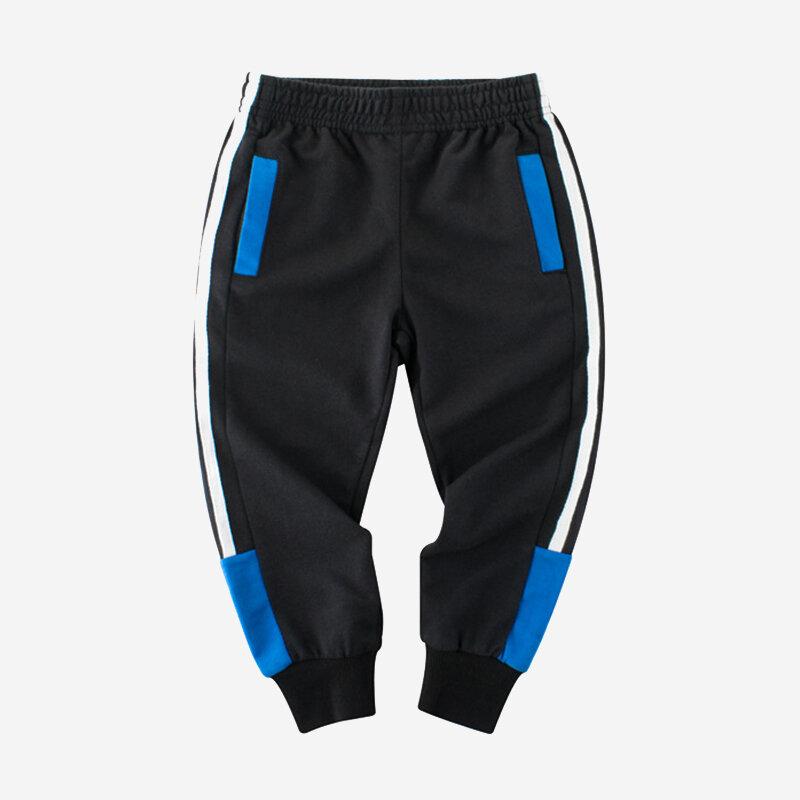 Boy's Elastic Waist Sport Pants For 2-10Y