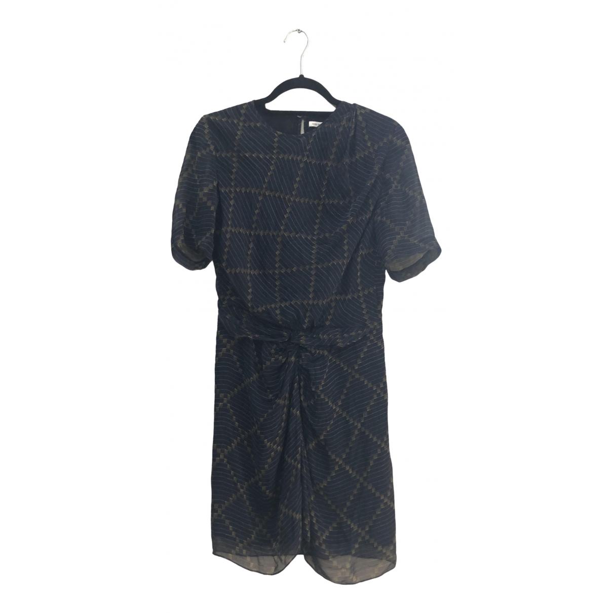 Isabel Marant Etoile \N Blue Silk dress for Women 36 FR