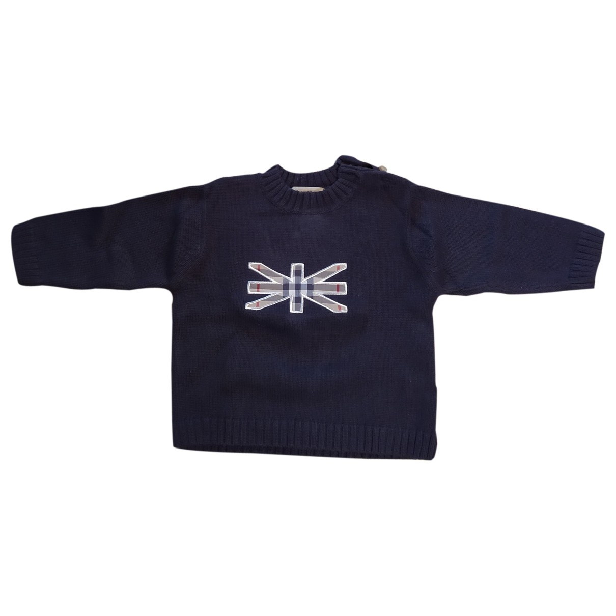 Burberry \N Blue Cotton Knitwear for Kids 12 months - up to 74cm FR