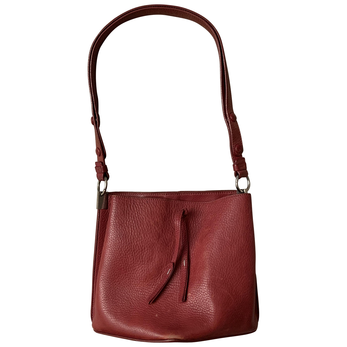 Maison Martin Margiela \N Burgundy Leather handbag for Women \N
