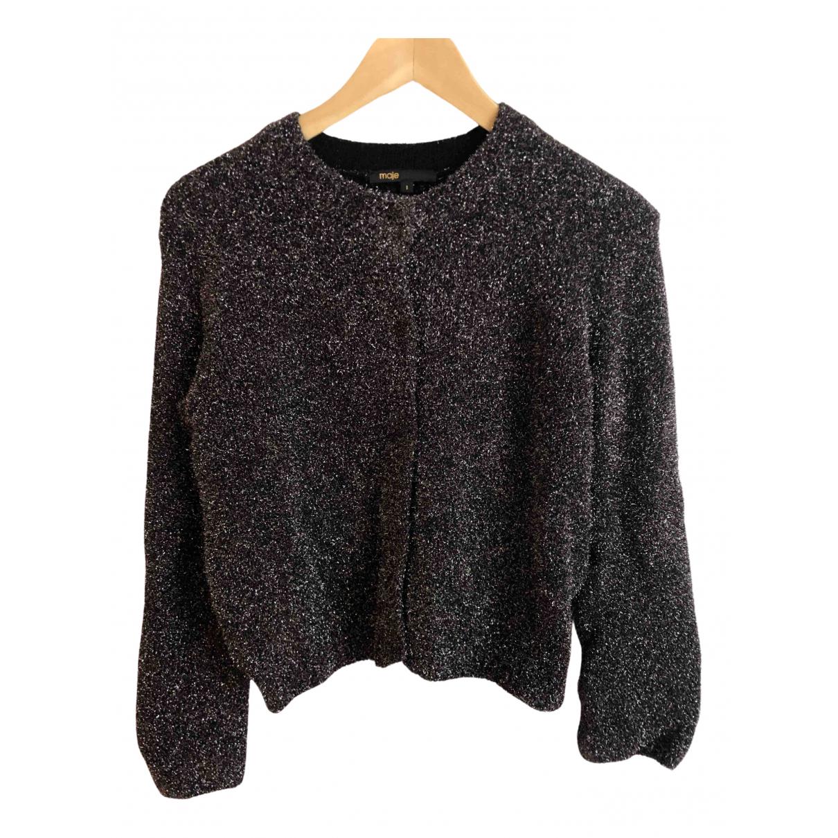 Maje - Pull Fall Winter 2019 pour femme en laine - noir