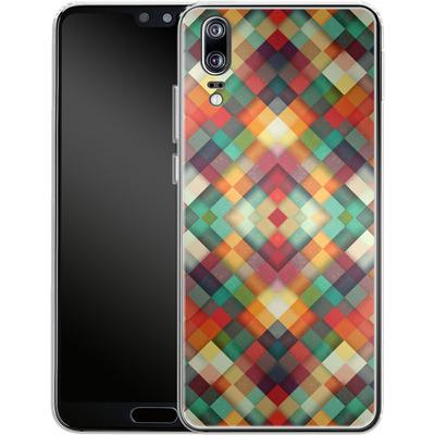 Huawei P20 Silikon Handyhuelle - Time Between von Danny Ivan