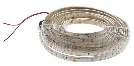 RS PRO Warm White LED Strip, 5m Reel, 24V