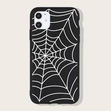 iPhone Schutzhuelle mit Spinnennetz Muster