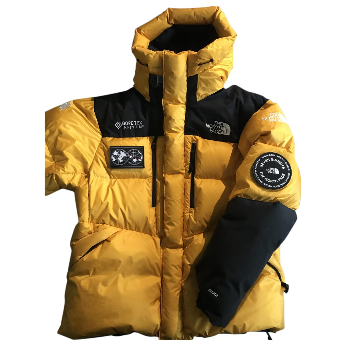 The North Face N Yellow jacket  for Men XL International