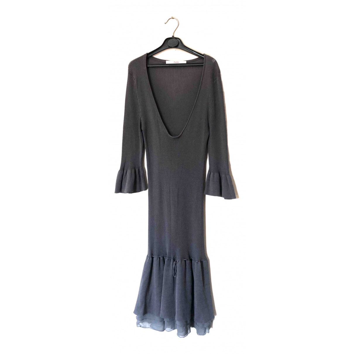 Jucca \N Grey Cotton dress for Women One Size IT