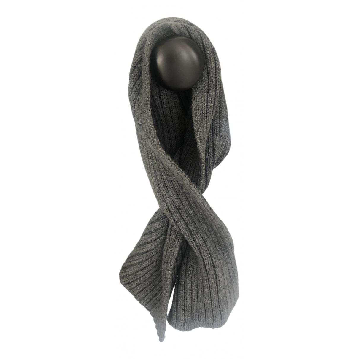 Joseph \N Schal in  Grau Wolle