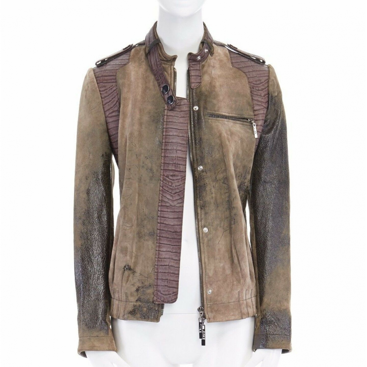 Dior \N Brown Leather jacket for Women 36 FR